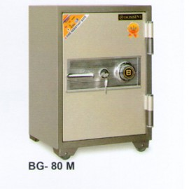 Brankas Bossini Manual BG 80 M