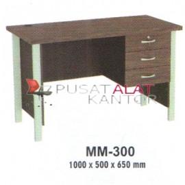 Meja Kantor VIP M Series MM-300 1000 x 500 x 650 mm