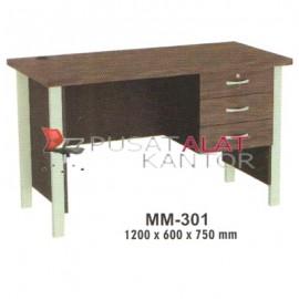 Meja Kantor VIP M Series MM-301 1200 x 600 x 750 mm