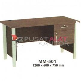 Meja Kantor VIP M Series MM-501 1200 x 600 x 750 mm