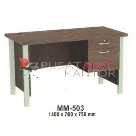 Meja Kantor VIP M Series MM-503 1500 x 700 x 750 mm