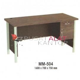 Meja Kantor VIP M Series MM-504 1600 x 700 x 750 mm