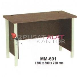 Meja Kantor VIP M Series MM-601 1200 x 600 x 750 mm