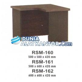 Meja Kantor VIP M Series RSM-160 500 x 500 x 420 mm, RSM-161 500 x 600 x 420 mm, RSM-162 600 x 600 x 420 mm