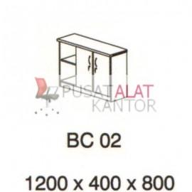 Meja Kantor Vip BC 02 (Cabinet) w1200 d400 h800