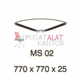 Meja Kantor Vip Ms 02 (Table Connector) w770 d770 h25