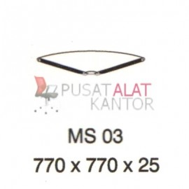 Meja Kantor Vip Ms 03 (Table Connector) w770 d770 h25
