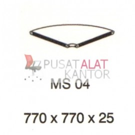 Meja Kantor Vip Ms 04 (Table Connector) w770 d770 h25