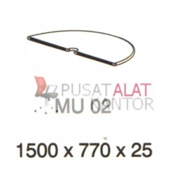 Meja Kantor Vip Mu 02 (Table Connector) w1500 d770 h25