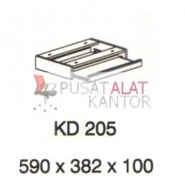 Meja Kantor Vips KD 205 (Keyboard Drawer) w590 d328 h100