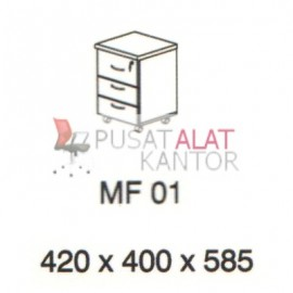 Meja Kantor Vips MF 01 (Mobile File) w420 d400 h585