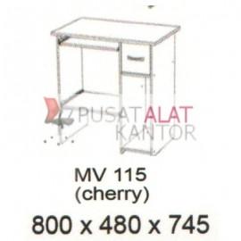 Meja Kantor Vips MV 115 (Computer Desk ) (Cherry) w800 d480 h745