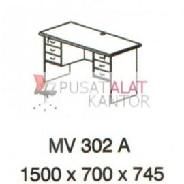 Meja Kantor Vips MV 302 A (Office Desk ) w1500 d700 h745