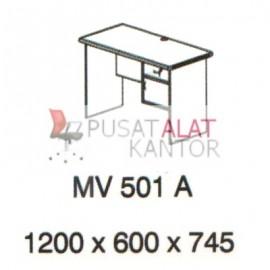 Meja Kantor Vips MV 501 A (Office Desk ) w1200 d600 h745