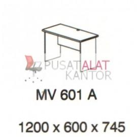 Meja Kantor Vips MV 601 A (Office Desk ) w1200 d600 h745