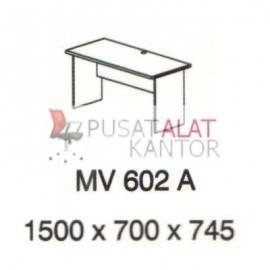 Meja Kantor Vips MV 602 A (Office Desk ) w1500 d700 h745