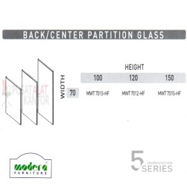 Back & Center Partition Glass