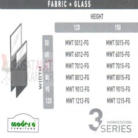 Full Fabric + Glass Part Spesifikasi