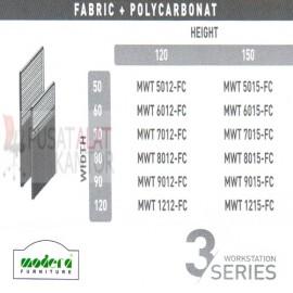 Full Fabric + Polycarbonat Spesifikasi