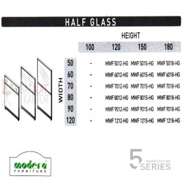 Half Glass Spesifikasi
