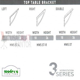 Top Table Bracket